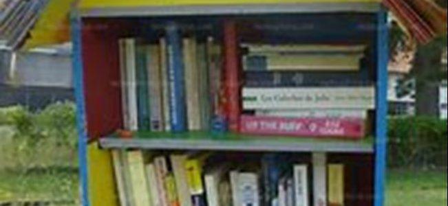 La boîte à livres…
